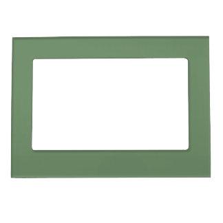 Marco magnético de la verde salvia marcos magnéticos