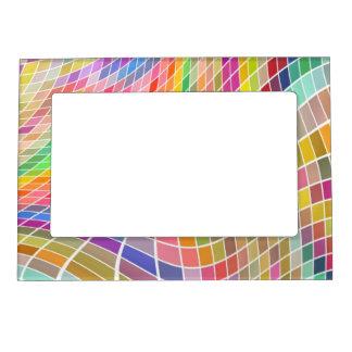 Marco magnético del diseño abstracto marcos magneticos para fotos