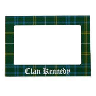 Marco magnético del tartán de Kennedy del clan Marcos Magnéticos Para Fotos