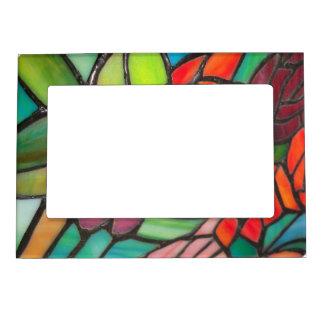 Marco magnético del vitral multicolor marcos magneticos de fotos