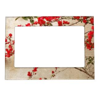 Marco magnético floral marcos magneticos de fotos