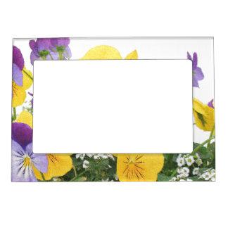 Marco magnético floral marcos magnéticos para fotos
