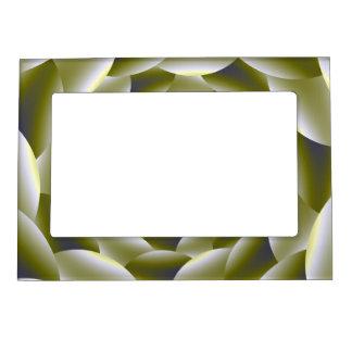 Marco magnético verde y blanco del espiral 5x7 marcos magneticos