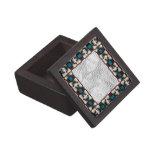 Marco marrón de la foto del modelo del trullo cajas de recuerdo de calidad