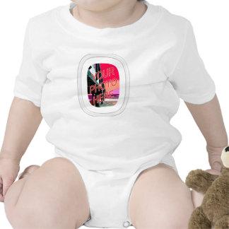 Marco oval de cristal del rectángulo traje de bebé