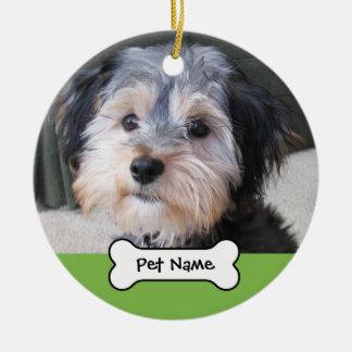 Marco personalizado de la foto del perro - SOLO-EC Adorno