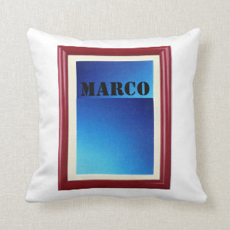 Marco Picture frame Throw Pillow