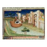 Marco Polo con los elefantes y los camellos que ll Postales
