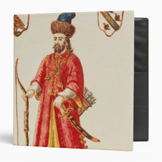 Marco Polo  dressed in Tartar costume 3 Ring Binder