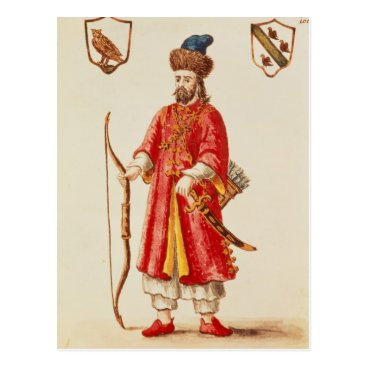 bridgemanimages Marco Polo  dressed in Tartar costume Postcard