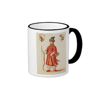 Marco Polo  dressed in Tartar costume Ringer Mug