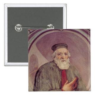 Marco Polo  from the 'Sala del Mappamondo' Pinback Button