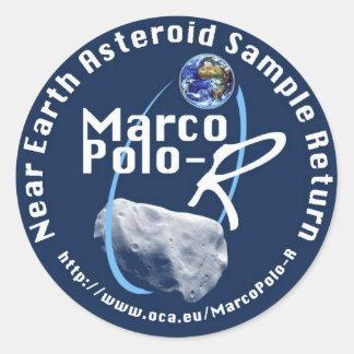 Marco Polo-R Classic Round Sticker