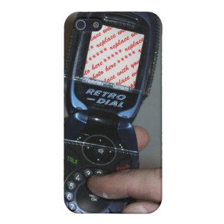 Marco retro de marcado manual de la foto iPhone 5 protectores