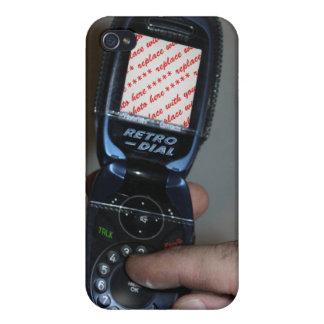 Marco retro de marcado manual de la foto iPhone 4 cárcasa