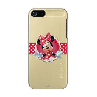 Marco rojo de la flor de Minnie el | Funda Para iPhone 5 Incipio Feather Shine