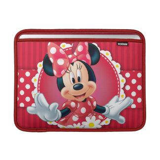 Marco rojo de la flor de Minnie el | Funda Para Macbook Air