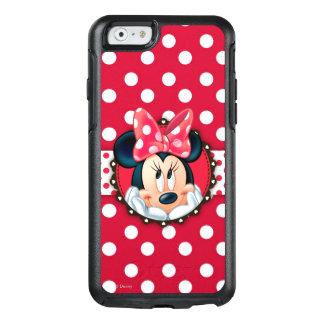 Marco rojo del lunar de Minnie el | Funda Otterbox Para iPhone 6/6s