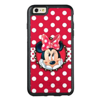 Marco rojo del lunar de Minnie el | Funda Otterbox Para iPhone 6/6s Plus
