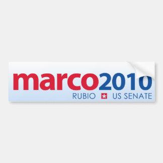 Marco Rubio 2010 Pegatina Para Auto