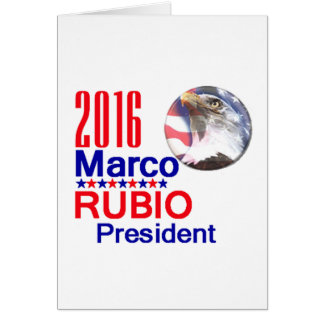 Marco RUBIO 2016 Greeting Cards