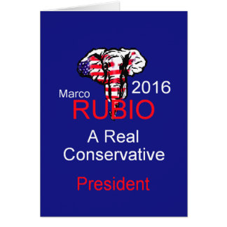 Marco RUBIO 2016 Cards
