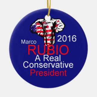 Marco RUBIO 2016 Ceramic Ornament