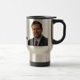 Marco Rubio 2016 & Elephant 15 Oz Stainless Steel Travel Mug