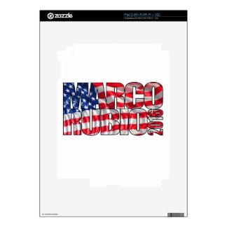 Marco Rubio 2016 (flag) iPad 2 Skins