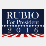Marco Rubio 2016 for President Political Campaign Yard Signs