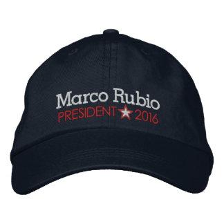 Marco Rubio 2016 Gorras De Beisbol Bordadas