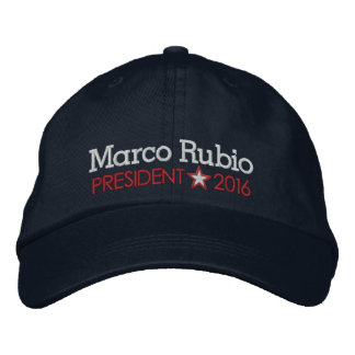 Marco Rubio 2016 Gorra Bordada