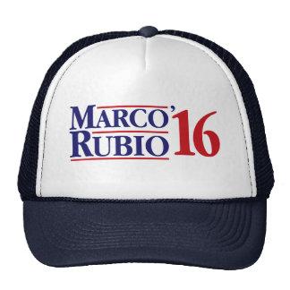 Marco Rubio 2016 Gorras