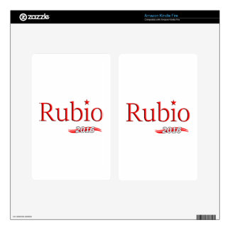 Marco Rubio 2016 Kindle Fire Decal