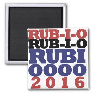 Marco Rubio 2016 2 Inch Square Magnet
