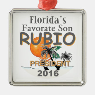 Marco RUBIO 2016 Metal Ornament