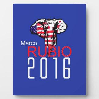 Marco RUBIO 2016 Plaque