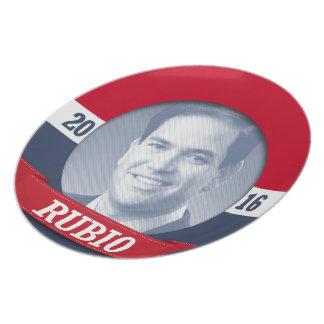 Marco Rubio 2016 Plato Para Fiesta