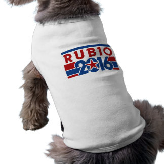Marco Rubio 2016 Playera Sin Mangas Para Perro