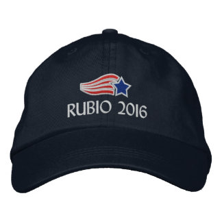 Marco Rubio 2016 Political Campaign Embroidered Embroidered Baseball Hat