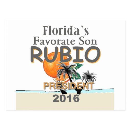 Marco RUBIO 2016 Postal