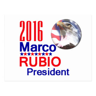 Marco RUBIO 2016 Postcards