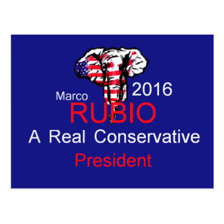 Marco RUBIO 2016 Postcard