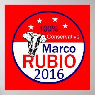 Marco RUBIO 2016 Poster