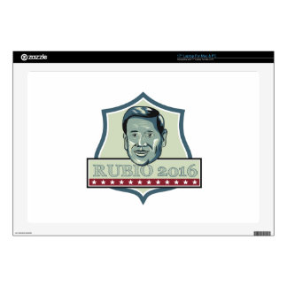 """Marco Rubio 2016 Republican Candidate 17"""" Laptop Decal"""