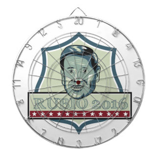 Marco Rubio 2016 Republican Candidate Dart Board