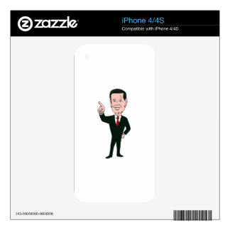 Marco Rubio 2016 Republican Candidate Decal For The iPhone 4