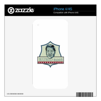 Marco Rubio 2016 Republican Candidate iPhone 4 Skins