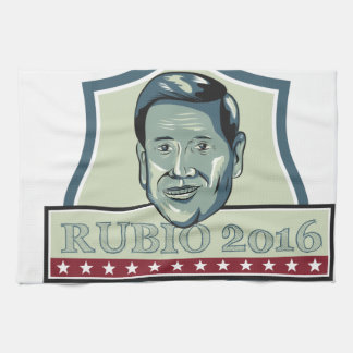 Marco Rubio 2016 Republican Candidate Hand Towels
