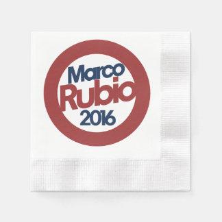 Marco Rubio 2016 Servilleta Desechable